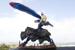 Whoosh! (katsuboy) Tags: anime japan toys japanese saber swords figures fatestaynight bfigure darksaber saberaltervortigern
