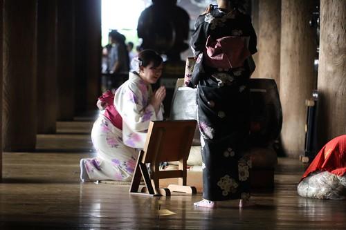 祈願する / What will the person pray for?