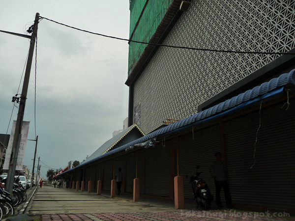 Malay Backlot of Shops