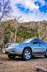 Forester (Cody Ash) Tags: colorado dunes subaru forester 2011