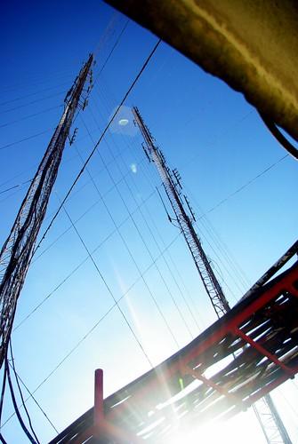 two-way radio towers