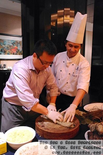 Dim Sum N Rice Dumplings At Li Yen Ritz Carlton-17