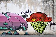 Ribeiro Preto - So Paulo - Brasil (Jurandir Lima) Tags: street city cidade brazil urban streetart muro art southamerica wall brasil graffiti nikon mural br arte grafiti interior sopaulo bra sp urbana rua dida fachada desenho pintura grafite artederua d300 ribeiropreto sudeste bixu jurandirlima