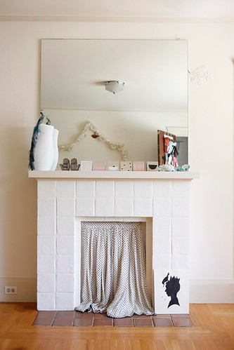 Mantle in Bedroom