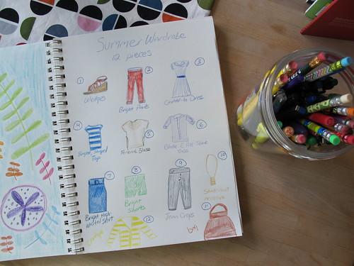 12 piece summer wardrobe
