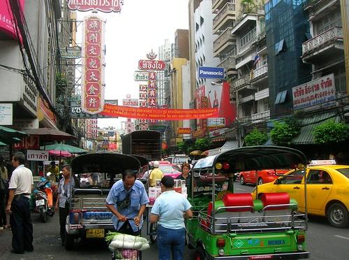 Thailand Chinatown by Danalynn C
