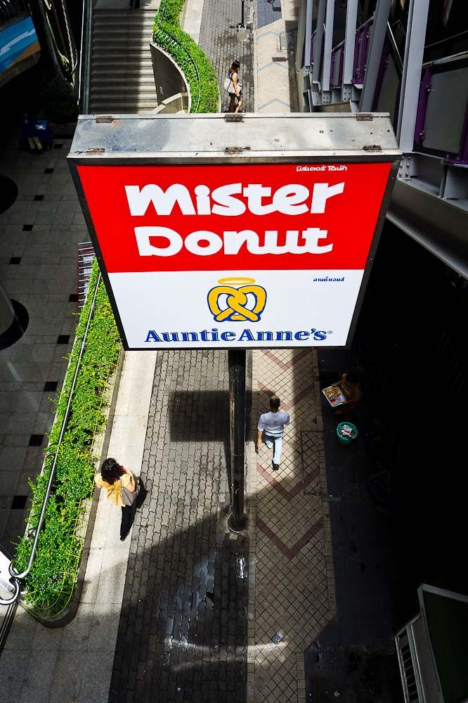 Mister Donut @ Bangkok, Thailand