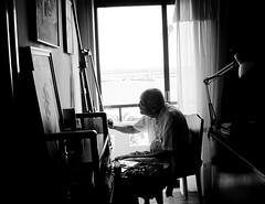 (Eleanna Kounoupa) Tags:    portraits blackandwhite painting blackwhitephotos greece