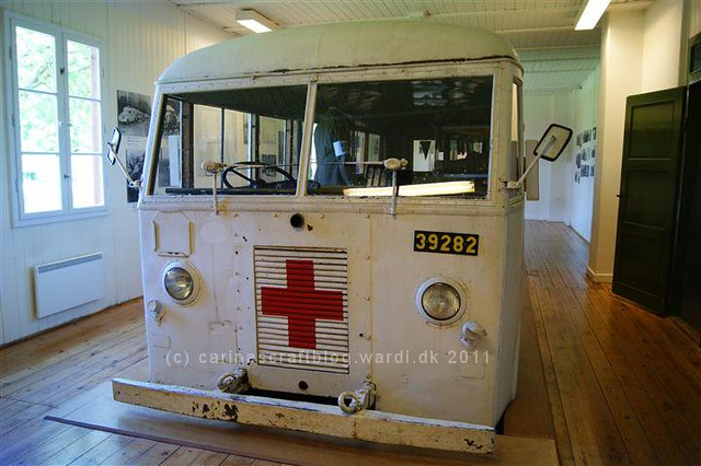 Swedish ambulance bus