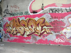 DAGON (Lurk Daily) Tags: graffiti bay east dagon dmc tdk
