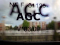Venstercode (ednl) Tags: window glass june juni train spring focus ns indoors lente glas trein raam intercity gouda binnen ruit venster agc nederlandsespoorwegen 2011 southhollandprovince provinciezuidholland