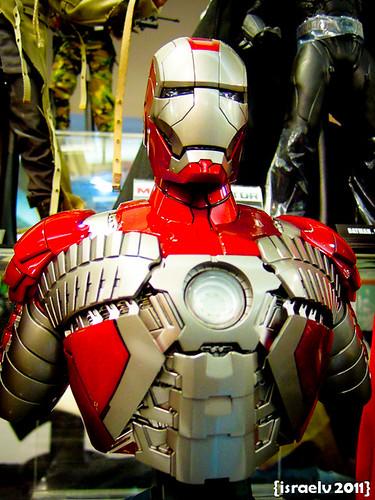 Iron Man Mark V (Movie Version) by israelv