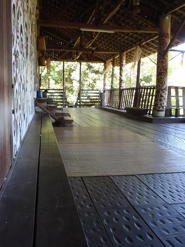 Orang Ulu Longhouse verandah