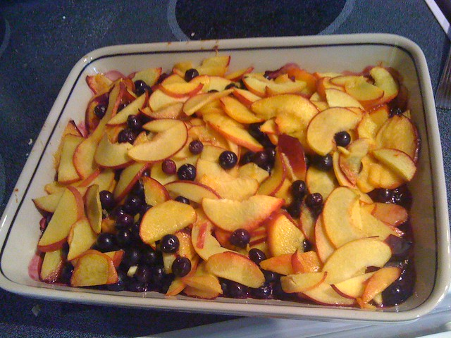 fruit layer for cobbler