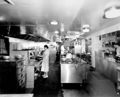 [Waldorf Hotel kitchen - basement level]