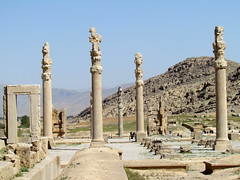 Hall of the Hundred Columns, Persepolis (twiga_swala) Tags: world heritage archaeology persian site ancient ruins iran culture persia unesco civilization iranian archaeological  minar   persepolis takhte jamshid  fars parsa  emprie chehel