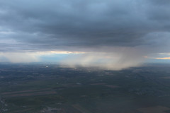Scattered Showers (dbcnwa) Tags: usa cloud storm rain weather clouds shower colorado aerial showers rainshower