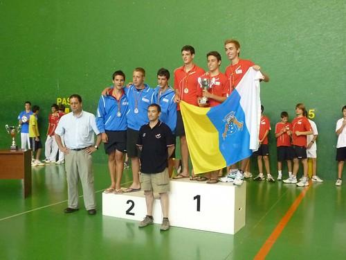 Podium Edad Federaciones 2011 F30