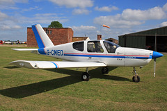 G-CMED (QSY on-route) Tags: club aero lincon sturgate egcs gcmed 04062011