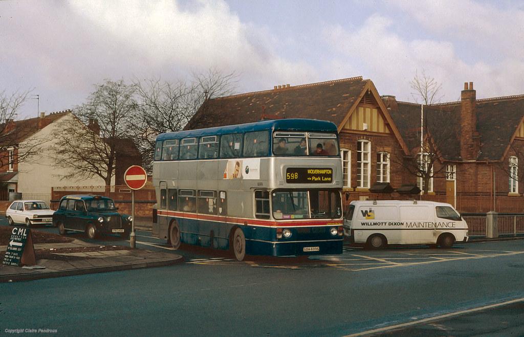 Park Lane - Cannock Road, Wolverhampton, 1996