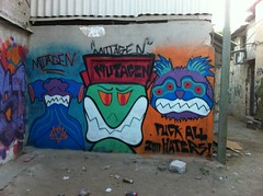 Mutagen Rise Again! (Mutagen!) Tags: streetart art shark israel rat attack horror invasion sbt mutation mutagen