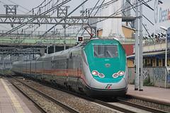 Frecciaverde [2] (frecciarossa9522) Tags: foto eurostar e trenitalia treni ferrovie modificate frecciarossa frecciaverde frecciabianca