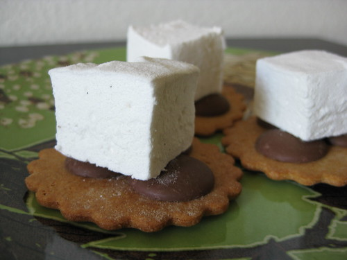 s'mores (pre-microwave)