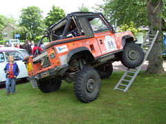 1986 LandRover 90 (Davydutchy) Tags: show netherlands car classiccar otto juli landrover 90 friesland fryslân 2011 stnicolaasga stnyk