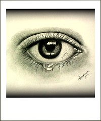 An Eye (Arunava from India) Tags: blackandwhite eye art pencil sketch blackwhite artwork drawing human pencildrawing realisticdrawing