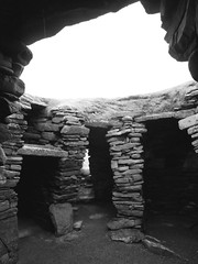 Wheelhouse, Jarlshof (ghostwheel_in_shadow) Tags: house monument scotland europe unitedkingdom ruin shetland ancientmonument ironage wheelhouse domesticarchitecture jarlshof publicarchitecture architectureandstructures