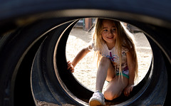 Creepin (The Moon & Back) Tags: kids fun happy smile portrait play ground children