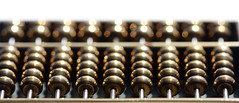 Down for the Count (PhotosbyDi) Tags: macromondays inarow abacus brass rows geometric counting miniature nikond600 tamronf2890mmmacrolens
