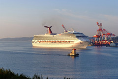 Carnival Victory & Theodore Tugboat