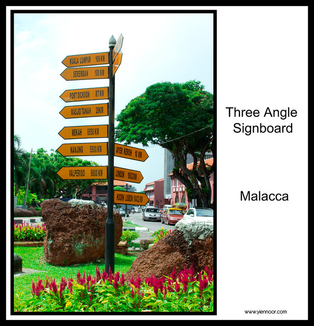 Three Angle Signboard