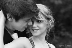 J & N (heaven_bound) Tags: portrait bw love boyfriend beautiful smile face youth canon eyes girlfriend couple young romance lovers prom together blonde romantic 5d markii