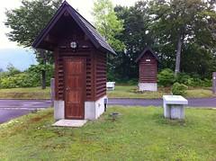 オートキャンプAタイプのトイレ