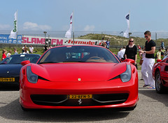 Ferrari 458 Italia (MauriceVanGestel Photography) Tags: auto park italien red italy holland cars netherlands beautiful beauty car rojo italian italia day north nederland ferrari coche holanda mooi autos dag circuit rood zandvoort supercar coches olanda noordholland f430 itali supercars italiano combo noord ferrarif430 italiaans sportwagen hollandia 458 italiancar prachtig evenement 2011 redferrari northholland cpz italianday italiaazandvoort ferrarired circuitparkzandvoort circuitzandvoort circuitpark rodeferrari sportwagens rojoferrari italiaanseauto ferrarisupercar redsupercar ferrari458 458italia ferrari458italia ferrarirood italiazandvoort red458 rode458 rodesupercar rodesportwagen italiaazandvoort2011 italiaansedag rode458italia red458italia italiaansevenement ferrarisportwagen