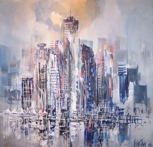 Vancouver - Painting - Impressionism