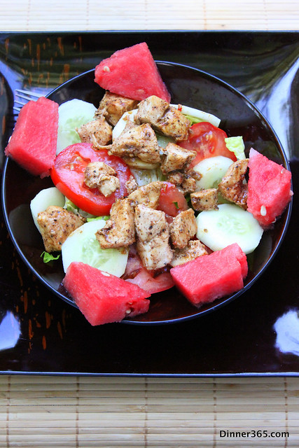 Day 180 - Chicken Watermelon Salad