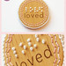 "Braille Pendant ""Loved"""