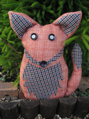 Fox Doorstop by Handmade and Heritage