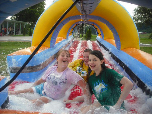 Water Fun at Chevaliers July 1 2011