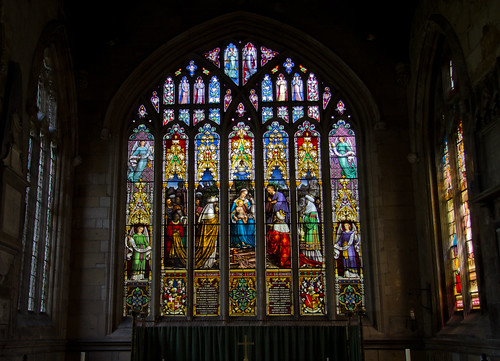 Cottingham Church Window