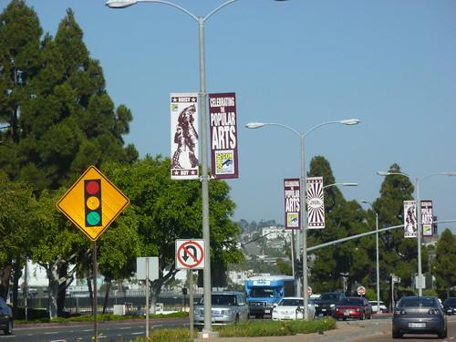 Comic-Con 2011 Banners Around San Diego