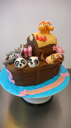 Noah's Ark Birthday Cake by CAKE Amsterdam - Cakes by ZOBOT