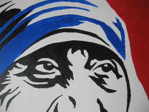 Day 14 - Mother Teresa's Eyes by mrsdkrebs, on Flickr
