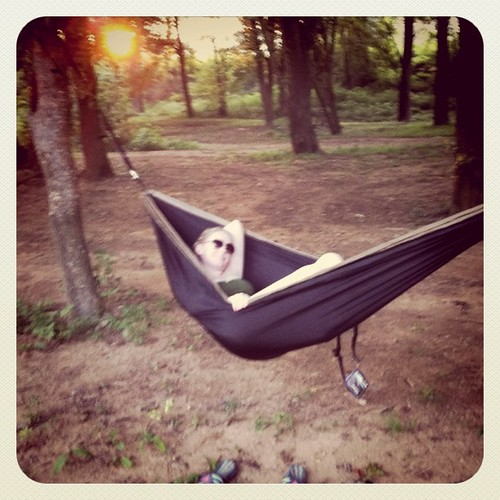 My sick hammock skills