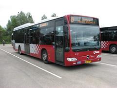 QBuzz bus 3141 Groningen garage (Arthur-A) Tags: bus netherlands buses mercedes nederland groningen autobus bussen citaro qbuzz