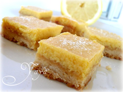 Creamy Lemon Square