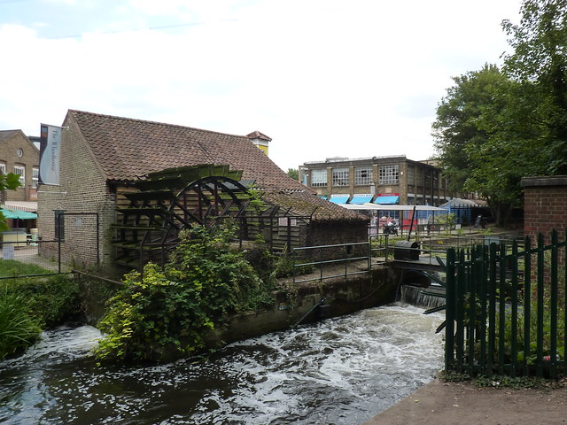 The Abbey Mills waterwheel